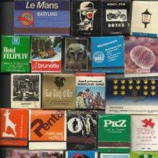 Cajas de Cerillas: GRAN COLECCION DE MAS DE 100 CAJAS DE CERILLAS DISTINTA VER FOTOS. Lote 51067115