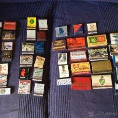Cajas de Cerillas: 57 CAJAS DE CERILLAS. AÑOS 70. Lote 51442630