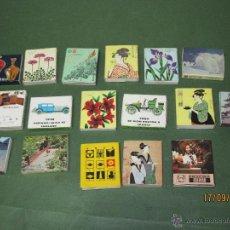 Cajas de Cerillas: ANTIGUAS CAJAS DE CERILLAS JAPONESAS COMPLETAS. Lote 51670274