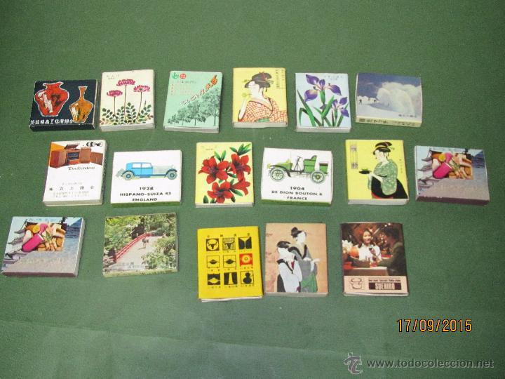 Cajas de Cerillas: Antiguas Cajas de Cerillas JAPONESAS Completas - Foto 2 - 51670274