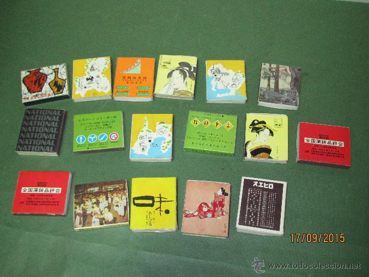 Cajas de Cerillas: Antiguas Cajas de Cerillas JAPONESAS Completas - Foto 3 - 51670274
