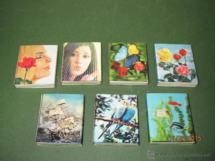 ANTIGUAS CAJAS DE CERILLAS HOLOGRAFICAS DE JAPÓN COMPLETAS (Coleccionismo - Objetos para Fumar - Cajas de Cerillas)