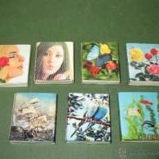 Cajas de Cerillas: ANTIGUAS CAJAS DE CERILLAS HOLOGRAFICAS DE JAPÓN COMPLETAS. Lote 51670352