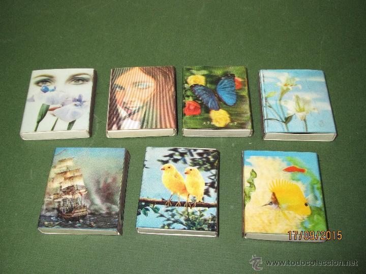 Cajas de Cerillas: Antiguas Cajas de Cerillas HOLOGRAFICAS de Japón Completas - Foto 2 - 51670352