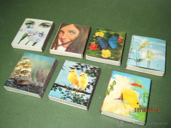 Cajas de Cerillas: Antiguas Cajas de Cerillas HOLOGRAFICAS de Japón Completas - Foto 3 - 51670352