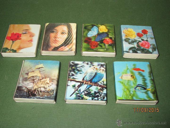 Cajas de Cerillas: Antiguas Cajas de Cerillas HOLOGRAFICAS de Japón Completas - Foto 4 - 51670352