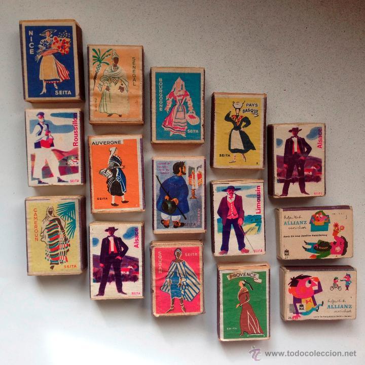 Cajas de Cerillas: LOTE de 50 CAJAS de CERILLAS RARISIMO POR LA VARIEDAD y POR SU CONSERVACION - Foto 3 - 51789072
