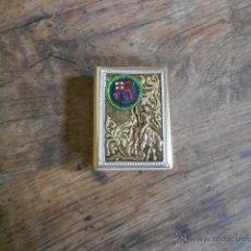 Cajas de Cerillas: CAJA DE CERILLAS DE METAL. Lote 51926323