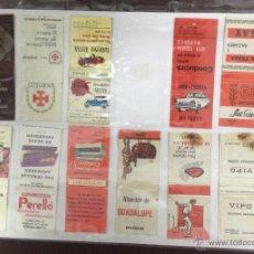 Cajas de Cerillas: LOTE DE 23 CAJAS DE CERRILLAS PUBLICITARIAS. VER FOTOS. EN PAPEL A DOBLE CARA.. Lote 52363937