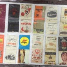 Cajas de Cerillas: LOTE DE 23 CAJAS DE CERRILLAS PUBLICITARIAS. VER FOTOS. EN PAPEL A DOBLE CARA.. Lote 52363943