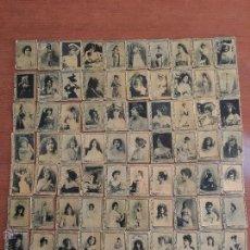 Cajas de Cerillas: COLECCION COMPLETA SERIE 3ª 75 PORTADAS CAJA DE CERILLAS SAMSOT. ACTRICES Y CUPLETISTAS. Lote 52916776