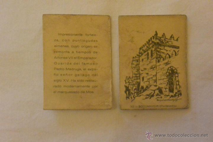 CAJA CERILLAS CASTILLOS ESPAÑA SOTOMAYOR PONTEVEDRA (Coleccionismo - Objetos para Fumar - Cajas de Cerillas)