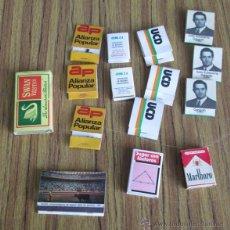 Cajas de Cerillas: LOTE 15 CAJAS CERILLAS ANTIGUAS . Lote 53291238