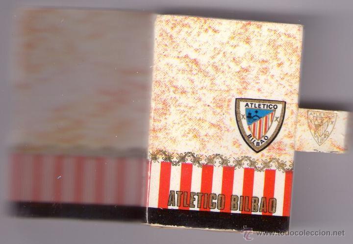 ATHLETIC CLUB-TEMPORADA 1970-71 (Coleccionismo - Objetos para Fumar - Cajas de Cerillas)