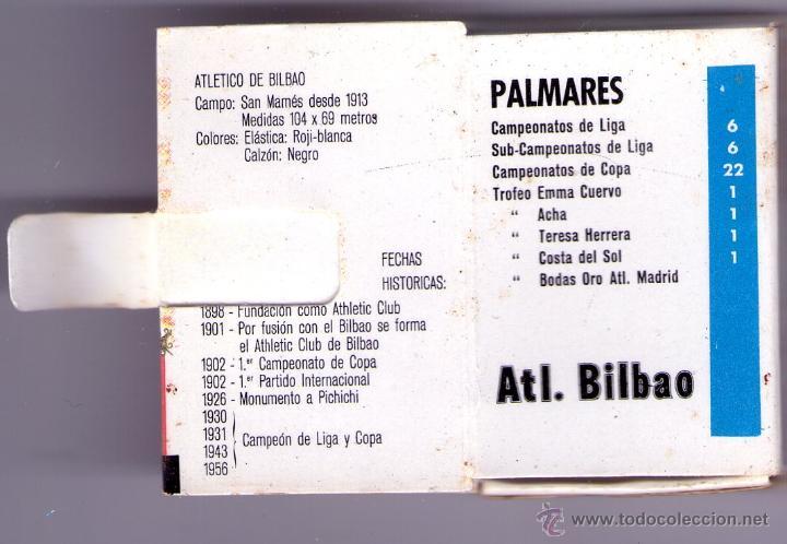 Cajas de Cerillas: ATHLETIC CLUB-TEMPORADA 1970-71 - Foto 2 - 53531448