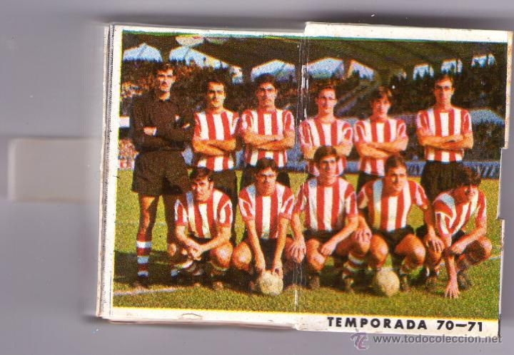 Cajas de Cerillas: ATHLETIC CLUB-TEMPORADA 1970-71 - Foto 3 - 53531448