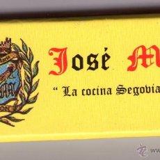 Cajas de Cerillas: JOSE MARIA-LA COCINA SEGOVIANA DE HOY. Lote 53451027