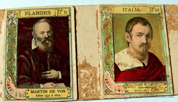 Cajas de Cerillas: TAPAS PARA CAJAS DE CERILLAS (24 PEGADAS) - Foto 4 - 53571122
