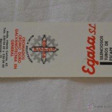 Cajas de Cerillas: CAJA CERILLAS FOSFORERA ESPAÑOLA PUBLICIDAD EGASA SL. Lote 53645443