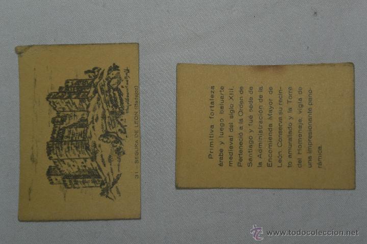 CAJA CERILLAS CASTILLO SEGURA DE LEON BADAJOZ (Coleccionismo - Objetos para Fumar - Cajas de Cerillas)