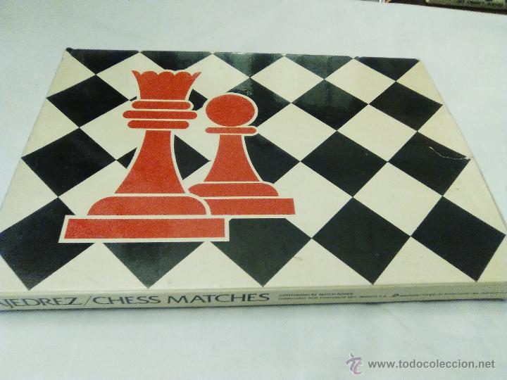Cajas de Cerillas: JUEGO DE AJEDREZ PARA COLECCIONISTAS DE FOSFOROS DEL PIRINEO, S.A. - Foto 4 - 53678070