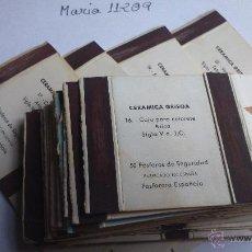 Cajas de Cerillas: CAJA DE CERILLAS SERIE COMPLETA CERÁMICA GRIEGA. Lote 54008467