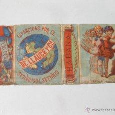Cajas de Cerillas: ENVOLTORIO DE CAJA DE CERILLAS FOSFORICAS EXTRAFINAS DE LLAUGE Y COMPAÑIA. HABANA. Lote 54045643