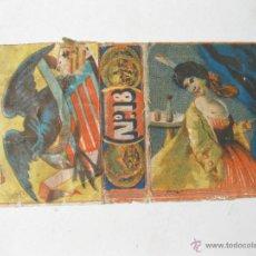 Cajas de Cerillas: ENVOLTORIO DE CAJA DE CERILLAS. POSIBLEMENTE CERILLA FINA DE LLAUGE Y COMPAÑIA. HABANA. Lote 54045656