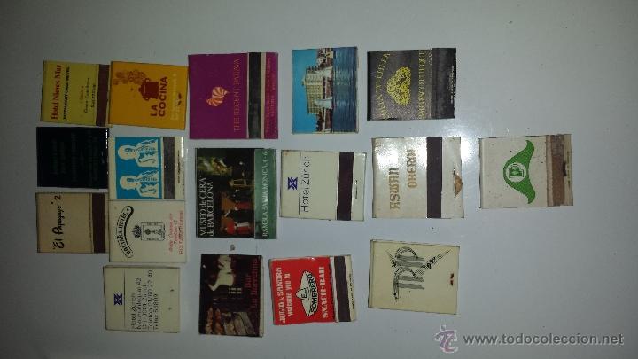 LOTE 17 CAJAS CERILLAS (Coleccionismo - Objetos para Fumar - Cajas de Cerillas)