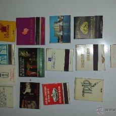Cajas de Cerillas: LOTE 17 CAJAS CERILLAS. Lote 54266043