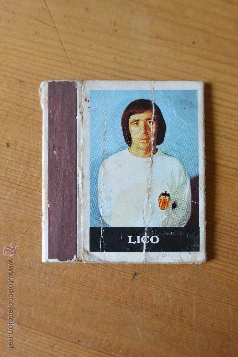CAJA CERILLAS LICO VALENCIA CF (Coleccionismo - Objetos para Fumar - Cajas de Cerillas)