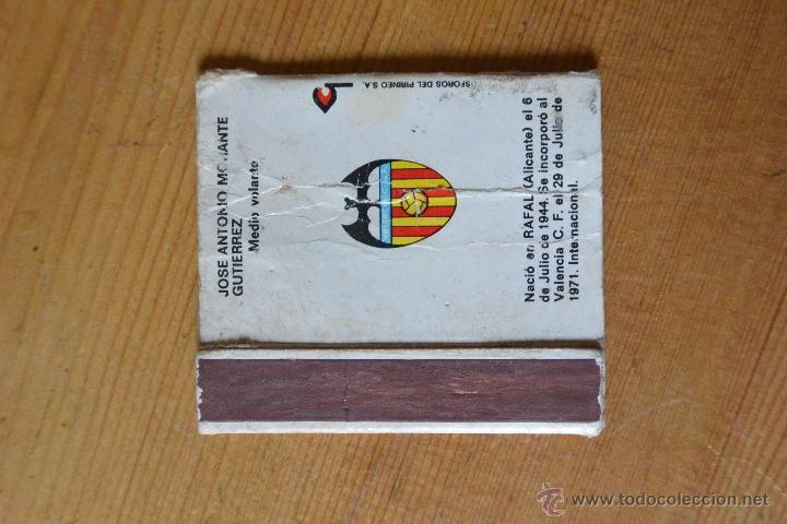 Cajas de Cerillas: CAJA CERILLAS LICO VALENCIA CF - Foto 2 - 54314168