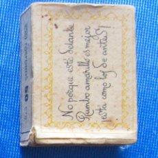 Cajas de Cerillas: RUMBO AMARILLO. FOSFORERA CANARIENSE. CAJA CERILLAS PUBLICITARIA. Lote 54514401