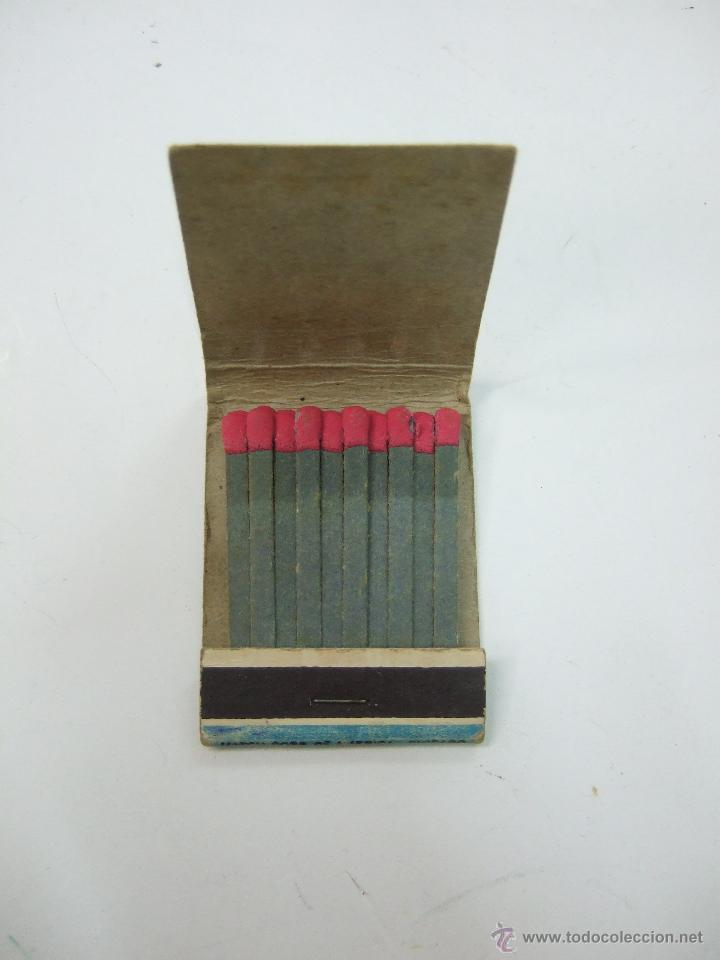 Cajas de Cerillas: CAJA CARTERILLA CERILLAS - COMPLETA - PUBLICIDAD MADE IN USA - TEXAS - EROTICA - PIN UP - BARBECUTIE - Foto 2 - 54560986