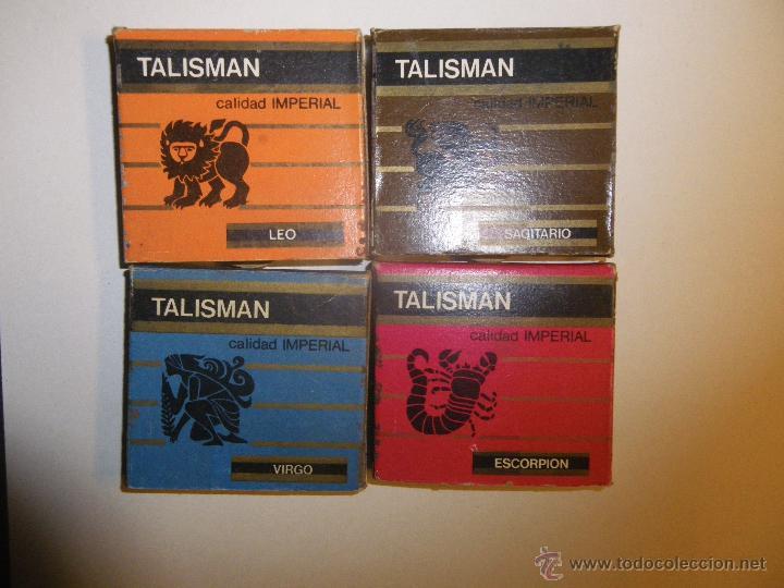 4 CAJAS DE CERILLAS DE HORÓSCOPOS, CALIDAD IMPERIAL. MEXICO. (Coleccionismo - Objetos para Fumar - Cajas de Cerillas)