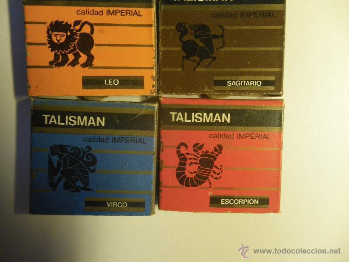 Cajas de Cerillas: 4 cajas de cerillas de Horóscopos, calidad IMPERIAL. Mexico. - Foto 2 - 54613764