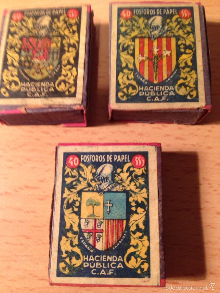 CAJAS DE CERILLAS (Coleccionismo - Objetos para Fumar - Cajas de Cerillas)