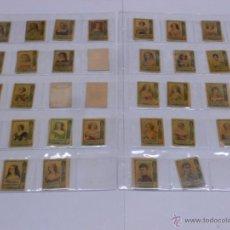 Cajas de Cerillas: LOTE 65 FOTOTIPIAS CAJAS DE CERILLAS SERIE 25- MUJERES NOBLEZA EUROPEA. Lote 54669524