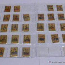 Cajas de Cerillas: LOTE DE 68 FOTOTIPIAS CAJAS DE CERILLAS SERIE 22 ESCRITORES.EN ESTUCHE DE PLÁSTICO.. Lote 54674214