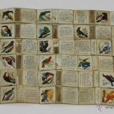 Cajas de Cerillas - COLECCION 30 CAJAS DE CERILLAS DE PAJAROS. FOSFORERA ESPAÑOLA. 1963. - 49412800