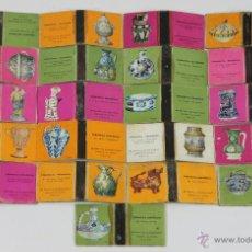 Cajas de Cerillas: COLECCION DE 21 CAJAS DE CERILLAS DE CERAMICA. FOSFORERA ESPAÑOLA. AÑOS 60.. Lote 49412999