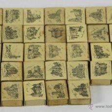 Cajas de Cerillas: LOTE DE 33 CAJAS DE CERILLAS. SERIE MONUMENTOS. FOSFORERA ESPAÑOLA. 1960.. Lote 49441354