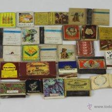 Cajas de Cerillas: LOTE DE 28 CAJAS DE CERILLAS. VARIOS TEMAS. VARIOS FORMATOS. SIGLO XX.. Lote 49445813