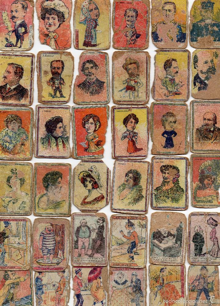 PANELES CORTADOS DE CAJAS DE CERILLAS GREMIO DE FABRICANTES SIGLO XIX (Coleccionismo - Objetos para Fumar - Cajas de Cerillas)