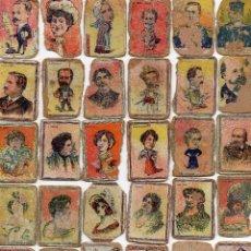 Cajas de Cerillas: PANELES CORTADOS DE CAJAS DE CERILLAS GREMIO DE FABRICANTES SIGLO XIX. Lote 55653725