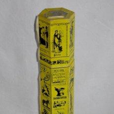 Cajas de Cerillas: RARA Y ANTIGUA CAJA DE CERILLAS GRANDES LARGAS. ¿PARA PUROS? PRINCIPIOS DE 1900. Lote 55693801