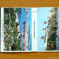 Cajas de Cerillas: RECUERDO DE MALLORCA - CARTERITA DE CERILLAS EN PLANCHA - FOSFORERA ESPAÑOLA. Lote 56204655