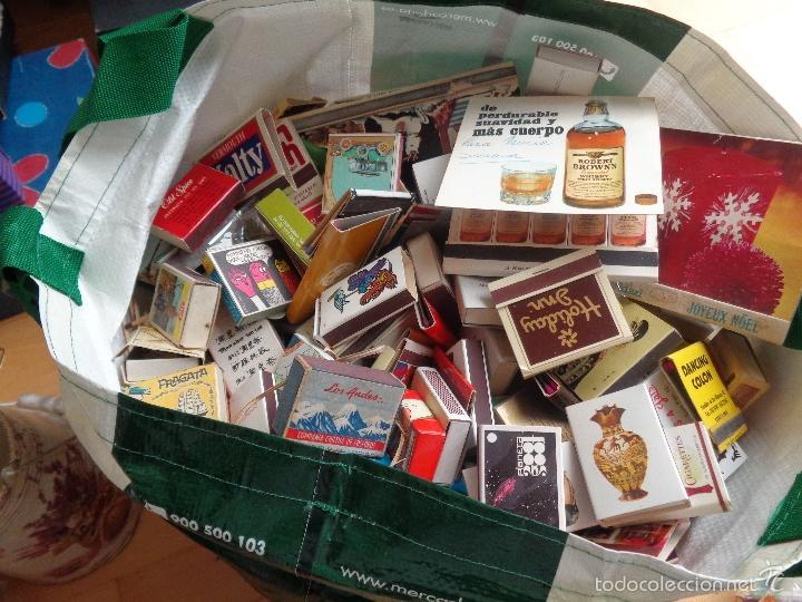 GRAN CANTIDAD DE CAJAS DE CERILLAS COLECCION PARTICULAR DESDE LOS AÑOS 60 AL 2000 (Coleccionismo - Objetos para Fumar - Cajas de Cerillas)