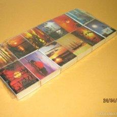 Cajas de Cerillas: ANTIGUA SERIE COMPLETA DE CAJAS DE CERILLAS SERIE * CONTRALUCES *. Lote 56334625