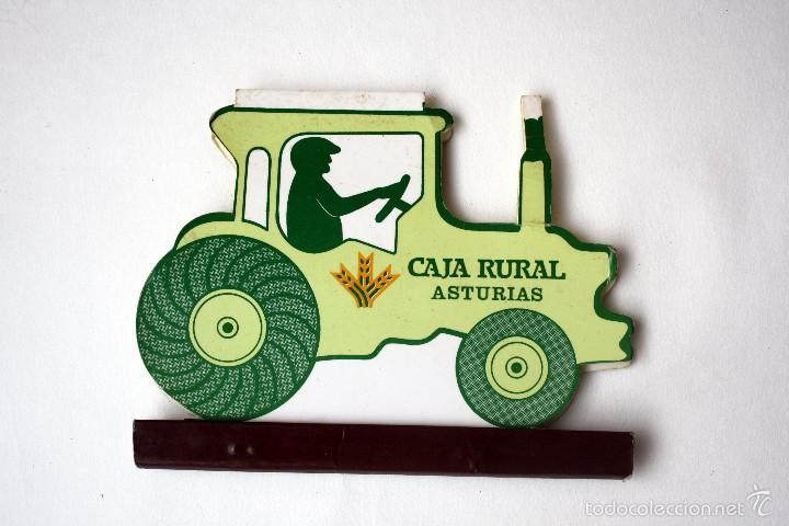 CAJA DE CERILLAS/CARTERITA TROQUELADA CAJA RURAL ASTURIAS (Coleccionismo - Objetos para Fumar - Cajas de Cerillas)
